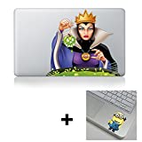 Snow White Evil Queen Macbook Laptop Decal Sticker + Bonus Gift Fit All Macbook Air Pro 13'' 15'' 17'' laptops