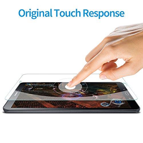 ESR Samsung Galaxy Tab A 10.1 Screen Protector [SM-T585( T580/T580N)], [2 Pack] 0.33mm [9H Tempered Glass][Bubble-Free] Anti-Scratch Anti-Fingerprint/Oil/Smudge for Samsung Galaxy Tab A 10.1 by ESR (Image #5)