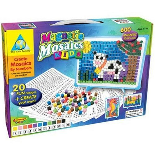 Orb Factory Magnetic Mosaics Kids, Baby & Kids Zone
