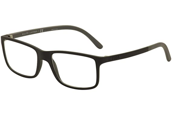 polo ph2126 eyeglass frames 5534 53 matte black