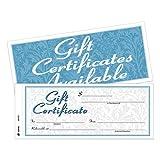 Cardinal Two-Part Carbonless Gift Certificates (ABFGFTC1)