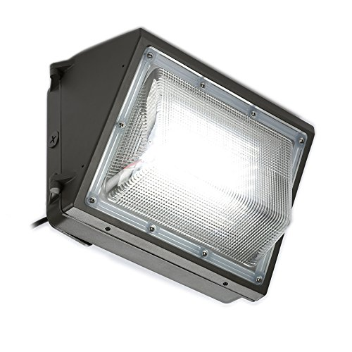 CO-Z LED Security Light, Bright Outdoor Area Lighting Fixture, 70W Outside Wall Pack for Light Up Yard Barn Warehouse Walkway Overhead Door, 5000K, 7000 Lumens, Waterproof 400W MH/HPS/HID Replacement