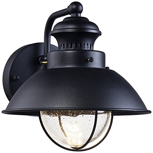 Black Led Outdoor Wall Lights