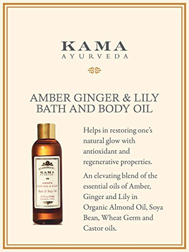 Kama Ayurveda Amber Ginger & Lily Bath and Body - 100 ml: Amazon.es: Salud y cuidado personal