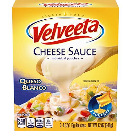 Velveeta Mild Queso Blanco Cheese Sauce, 12 oz. (Cheese Sauce For Broccoli With Cheese Whiz)
