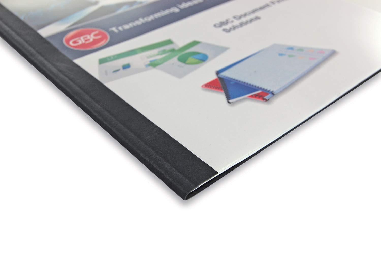 Bianco GBC Copertine Termiche Goffrate 4mm 100pz IB451720