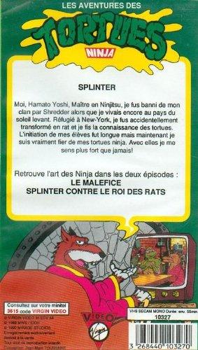 Tortues Ninjas Vol 5 Splinter Contre Le Roi Des Rats