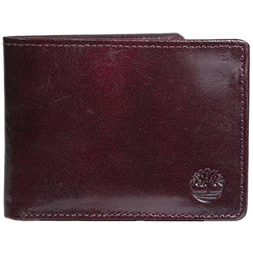 her Passcase Wallet Black Cherry (Black Cherry Leather)