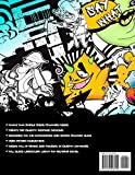 Graffiti Letters and Characters Coloring book: best street art coloring books for grownups & kids who love graffiti | perfect for graffiti artists & amateur artist alike