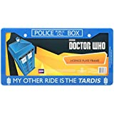 Doctor Who My Other Ride License Plate Frame