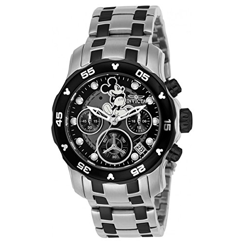 Invicta Disney Limited Edition Chronograph Black Dial Ladies Watch 24131