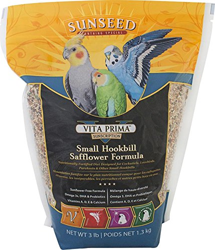 SUNSEED COMPANY 079437 Vita Small Hookbill Formula, 3 (Hookbill Food)