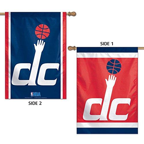 (NBA Washington Wizards 2 Sided Vertical Flag, 28 x 40)