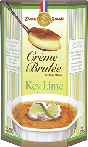 Dean Jacob's Key Lime Creme Brulee Quick Mix ~ 4.1 oz. ()