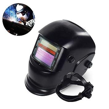 Careta Soldar Automatica, Casco de Soldadura de Oscurecimiento Máscara de Soldadores Caretas para ARC TIG Mig Molienda: Amazon.es: Hogar