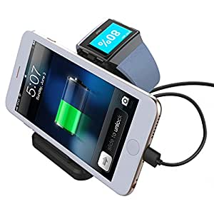 Amazon.com: Charging Dock for Fitbit Ionic, Meneea Charger
