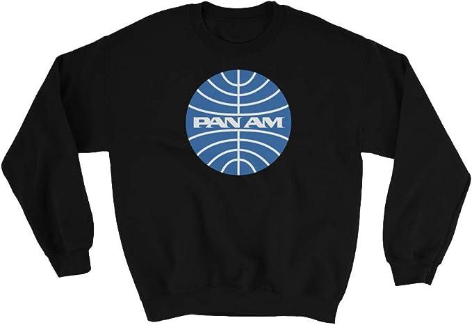 Pan Am Compagnie Aeree Uomo Retrò Felpa con Cappuccio Catch Me If You Can Film