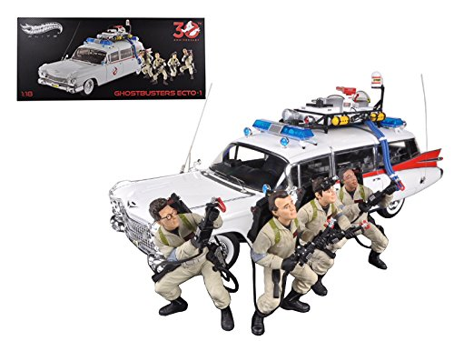 1959 Cadillac Ambulance (Hot Wheels 1959 Cadillac Ambulance Ecto-1 From Ghostbusters 1