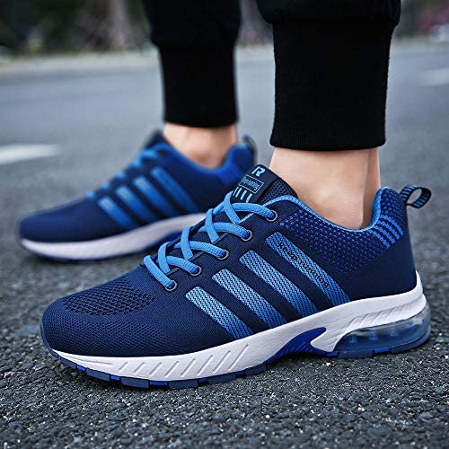 Ahico Men Women Running Shoes Tennis Shoe Air Cushion Lightweight Fashion Walking Shoes Sneakers Breathable Athletic Training Sport 16