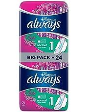 Always - Platinum Normal (Maat 1) Met Vleugels - Maandverband - 24 stuks