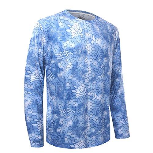 Koofin Performance Fishing Shirt Men UPF 50 UV Sun Protection Long Sleeve Quick Dry Mesh Cooling...