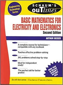 Schaum's Outline of Basic Mathematics for Electricity and Electronics (Schaum's)