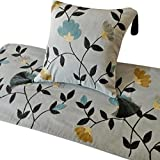 California King Bed Dimensions in Feet The HomeCentric Grey Bed Runner, CA King 18 x 86 inches King Size Bed Scarf in Grey Velvet with Crewel Embroidery - Floral Crewel