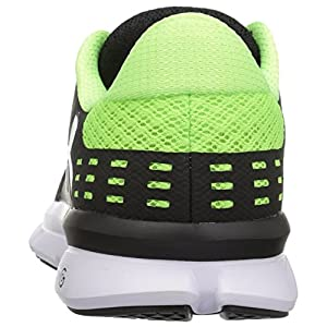 Under Armour Men's Micro G Speed Swift 2, Black (004)/Quirky Lime, 10.5