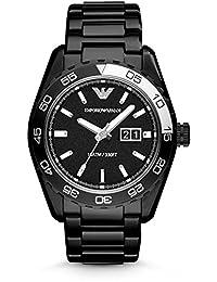 Emporio Armani Sportivo Black Ion Mens Watch AR6049