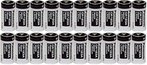 Panasonic 20 CR123A 123A Industrial 3V Lithium Batteries