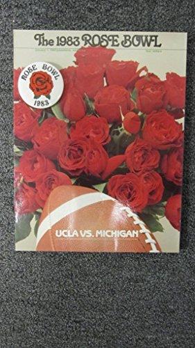 1983-ROSE-BOWL-GAME-PROGRAM-UCLA-BRUINS-VS-MICHIGAN-WOLVERINES-W-BUTTON