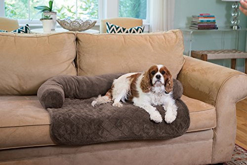 Ultra Plush Pet Bed & Furniture Protector for Dogs, Cats & Other Pets By Home Fashion Designs Brand (Chocolate)