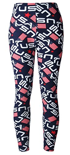 BAOMOSI Womens Leggings Ultra Soft Printed Fashion Brushed Leggings Regular and Plus Size (XS – XXXL)