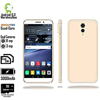 "Amazon.com: Indigi UNLOCKED 5.6"" Android 6 DualSim 4G LTE"