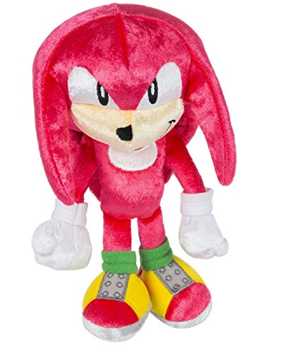 TOMY Sonic 25th Anniversary Knuckles 1991 Plush, Small ()