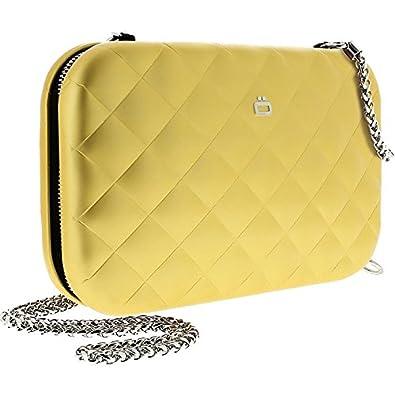 OGON - Cartera de mano para mujer dorado dorado: Amazon.es: Zapatos y complementos