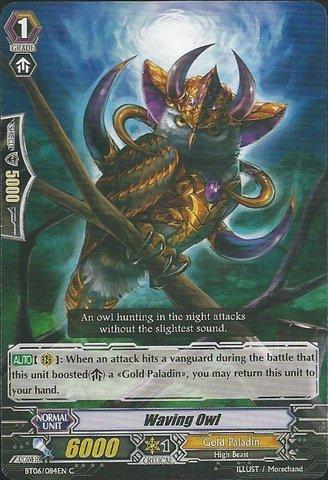 Cardfight!! Vanguard TCG Waving Owl (BT06/084EN) - Breaker of Limits Bushiroad Inc.