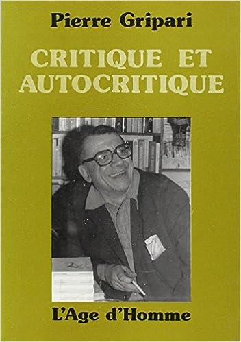 """Résultat de recherche d'images pour """"Critique et autocritique"""""""