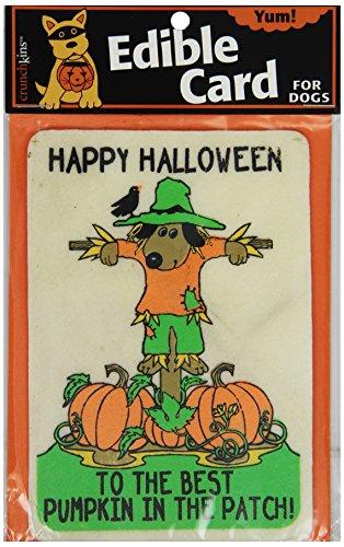 Crunchkins Crunch Edible Card, Happy Halloween, Best Pumpkin In Patch