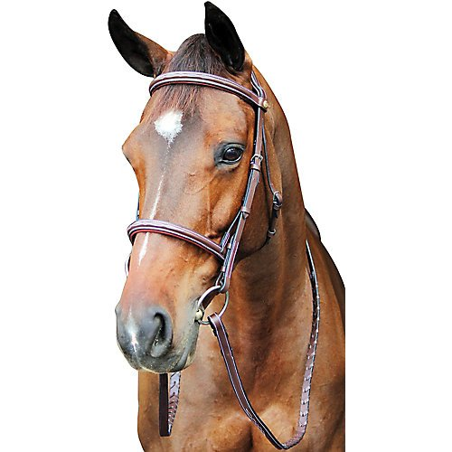 Henri de Rivel HDR Pro Fancy Raised Comfort Crown Padded Bridle H