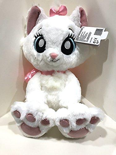 (Disney Parks Marie the Cat Kitten Big Feet Eyes Plush Doll Aristocats)