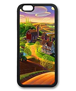 iCustomonline Spring on the Farm Designs Case Back Cover for iPhone 6 Plus(5.5 inch) by mcsharks