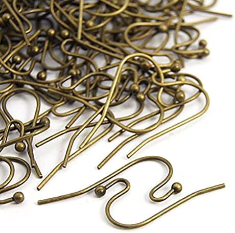 Handcrafted 20 gauge French Hook Earring Components Nickle and Lead Free