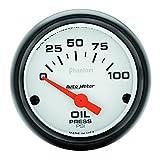 Auto Meter 5727 Phantom Electric Oil Pressure Gauge