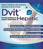 Dvit Nutritional Balanced Hepatic Supplement- 400 g Vanilla Flavour