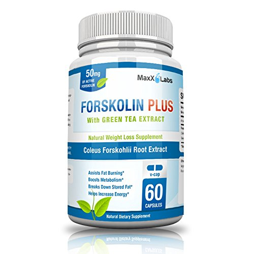 MaxX-Labs-Forskolin-250mg-with-Green-Tea-Extract-50mg-60-Gluten-Free-Veggie-Capsules