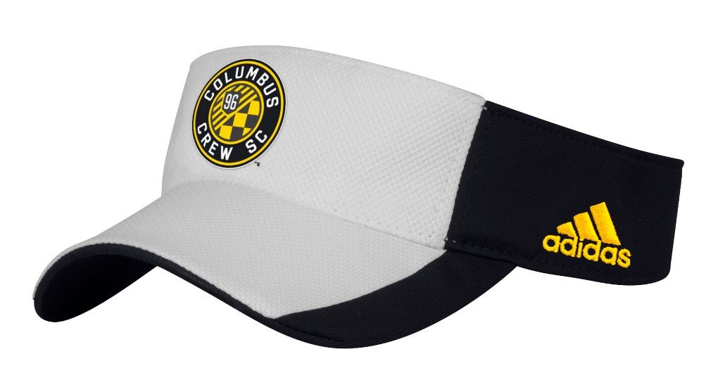 Columbus Crew Adidas MLS Performance Adjustable Visor 9d7e66f5d2aa