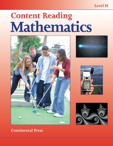 Math Workbooks: Content Reading: Mathematics, Level H - 8th Grade pdf