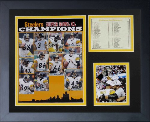 - Legends Never Die 2005 Pittsburgh Steelers Framed Photo Collage, 11x14-Inch