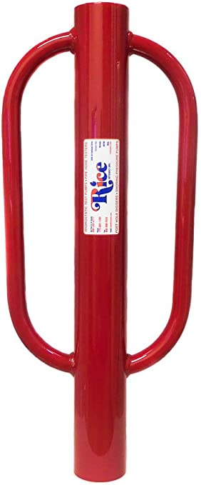 """Inc RICE Hydro Heavy Duty 3/"""" Durable Steel Post Pounder//Post Driver 27 Pounds"""